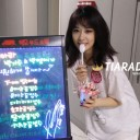 Milestone: Hyomin & Jiyeon Pose With Our Bingsu Station from 'TheShow' Support