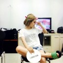Hyomin being dorky as usual in her latest Naver blog update! (28th July 2014)
