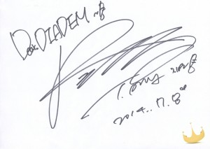 Solo Debut Support Autograph