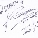 Milestone: Jiyeon sends two autographs in thanks for solo debut and MC support