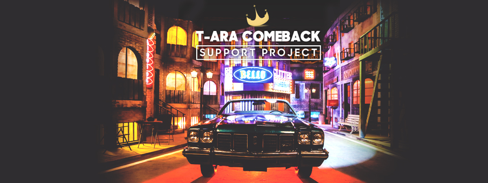 Project: T-ara Comeback Food Support Project