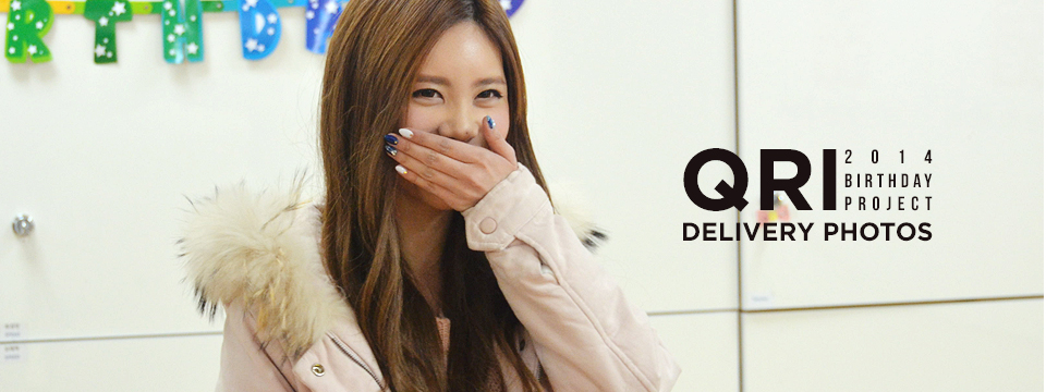 Qri's 2014 Birthday Project Delivery Photos