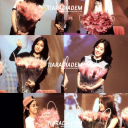 T-ara show off our bouquets from final So Good fan sign event